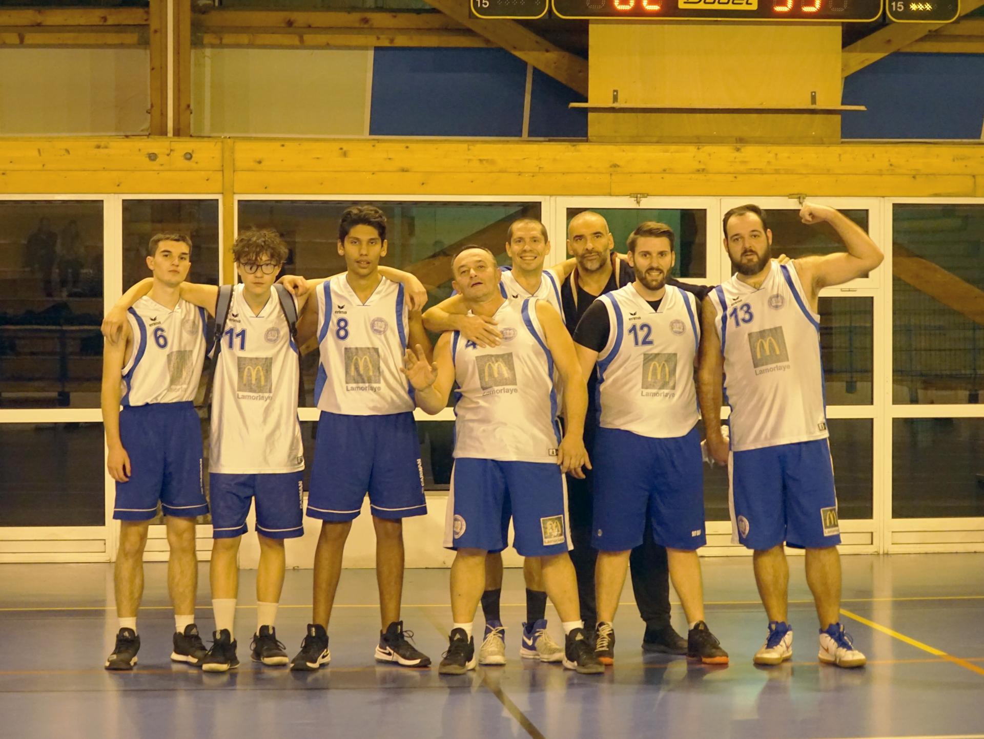 Seniors Masculins Sud Basket Oise Saison 2018-2019