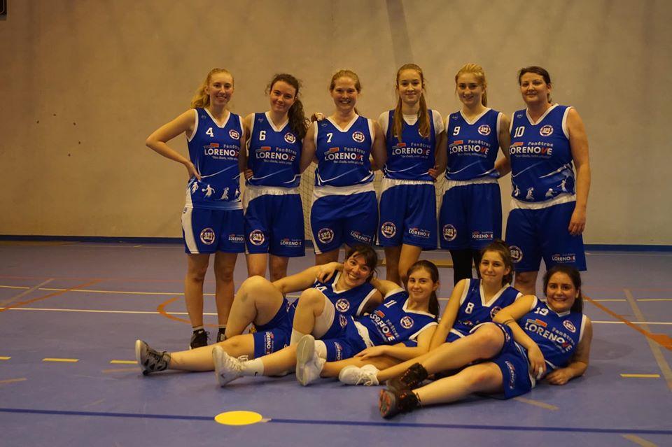 Seniors filles Sud Basket Oise