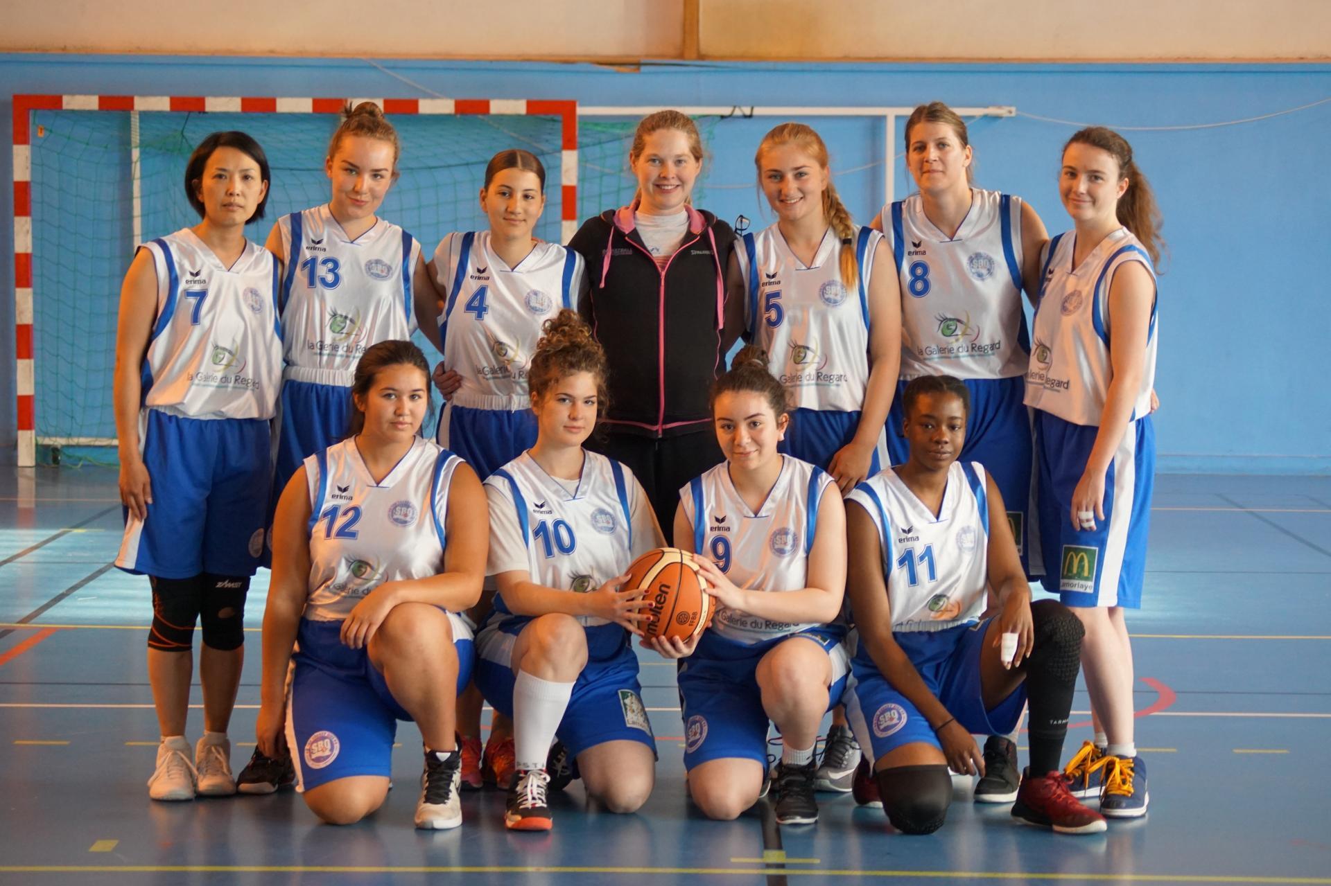 Seniors filles Sud basket Oise Saison 2018-2019