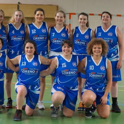 Seniors filles Sud Basket Oise Saison 2019-2020