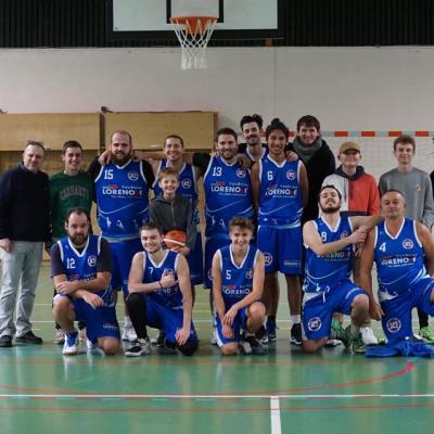 Seniors masculins Sud Basket Oise Saison 2019-2020