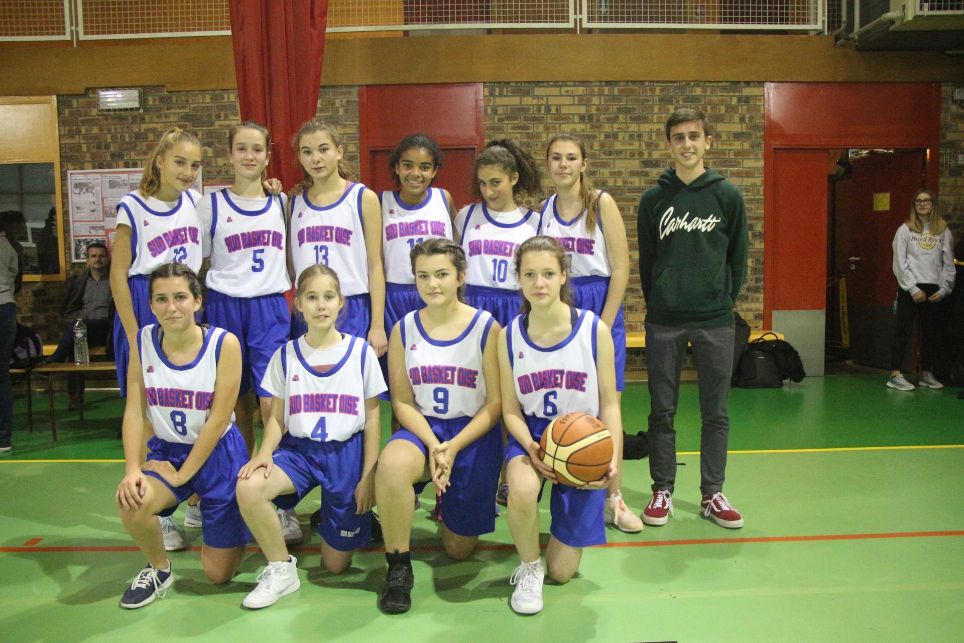 U15F Sud Basket Oise Saison 2018-2019