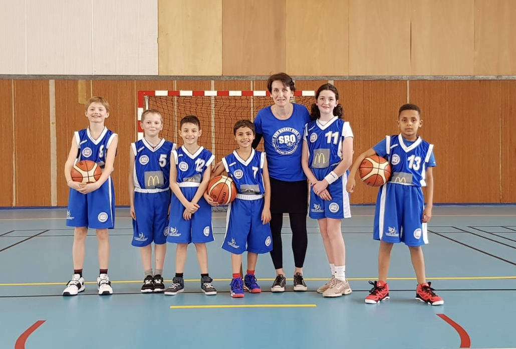 U11 e2 Sud Basket Oise Saison 2018-2019