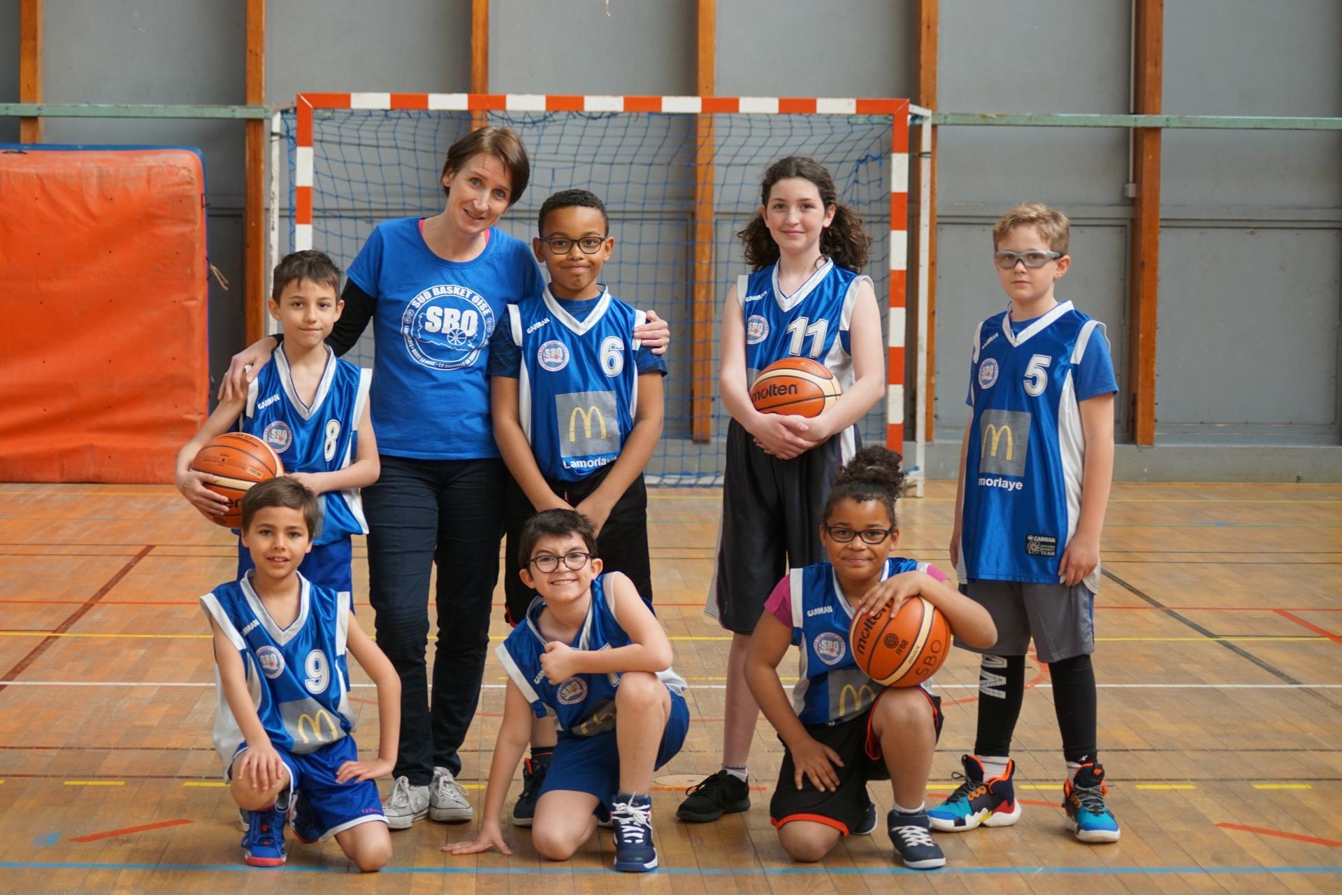 U11 Equipe 2 Sud Basket Oise