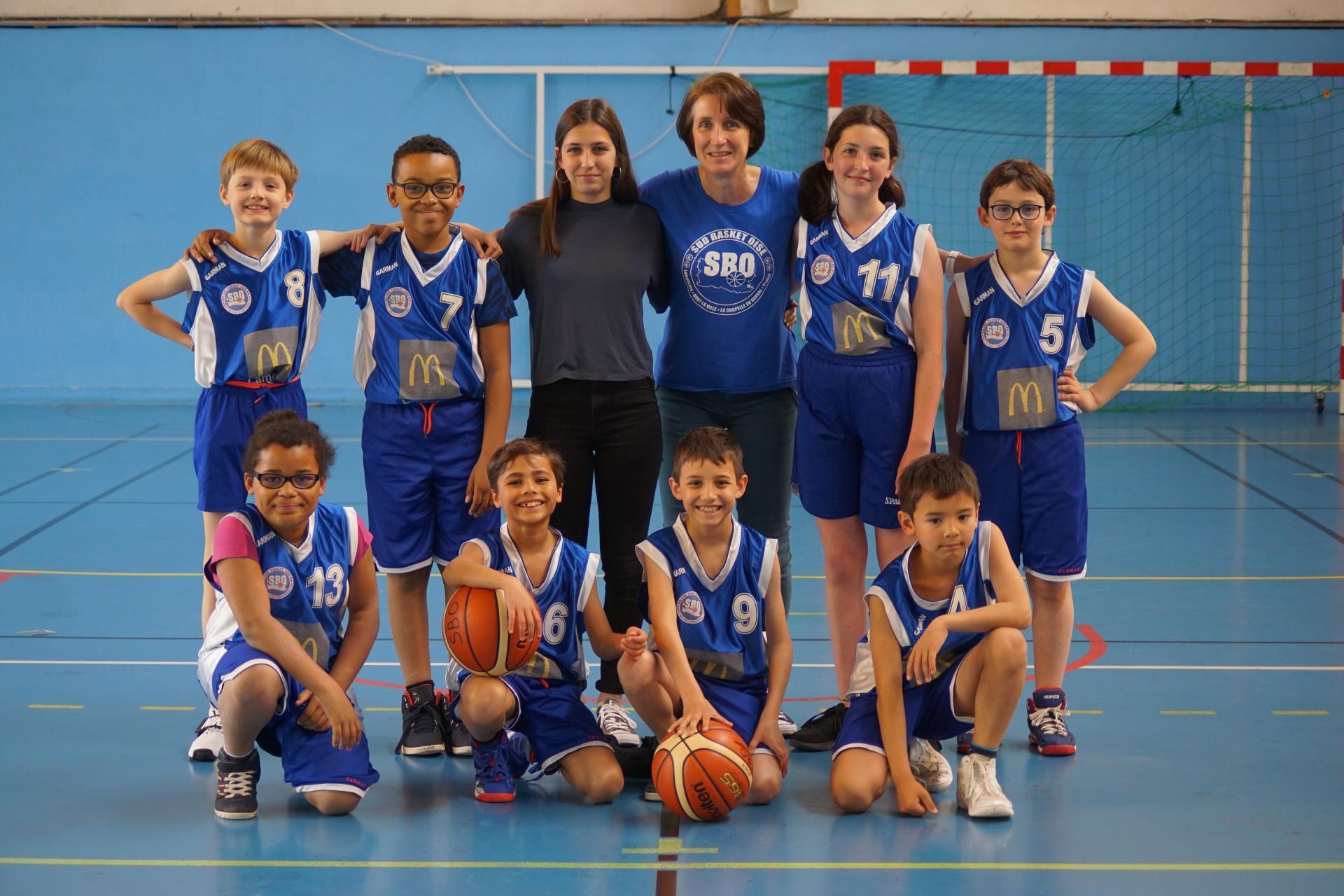 U11 Sud Basket Oise Saison 2018-2019