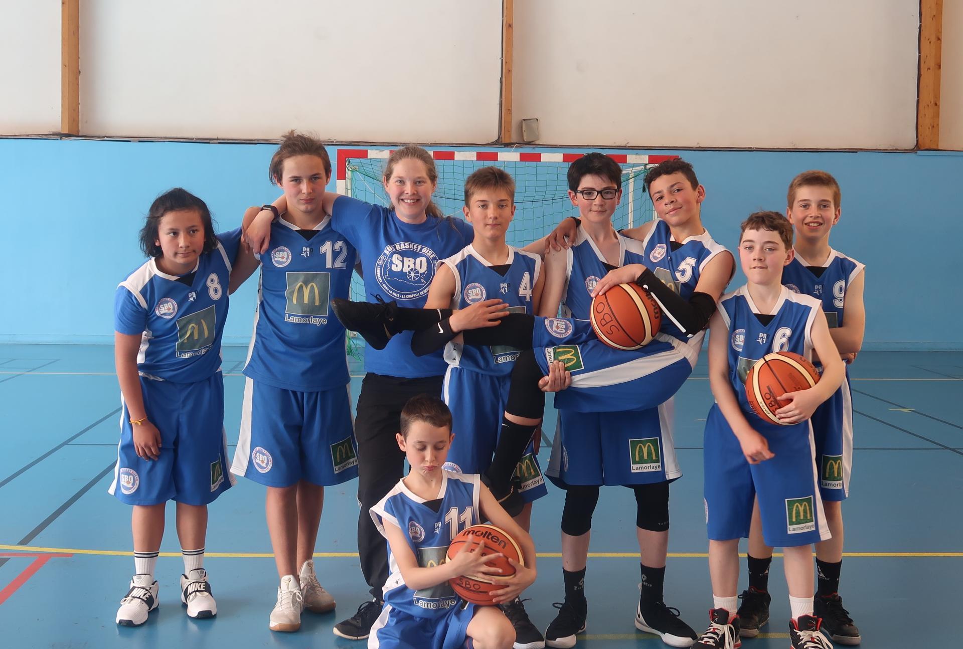U13 Elite Sud Basket Oise Saison 2018-2019