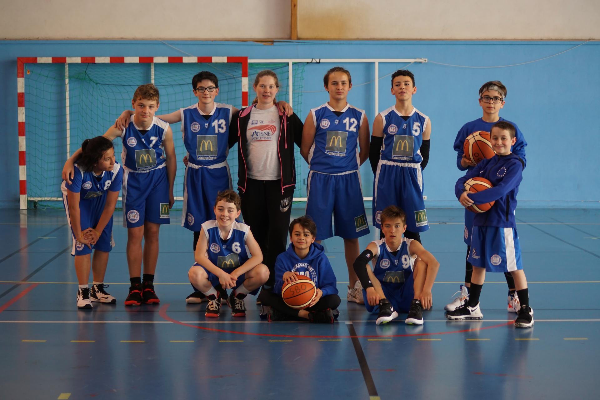 U13 Sud Basket Oise Saison 2018-2019