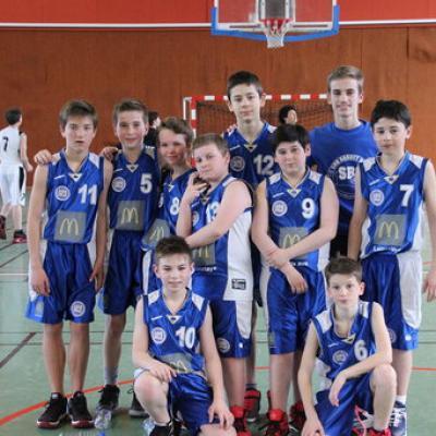 U13B Sud Basket Oise 16032019