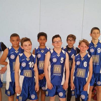 U13B sud Basket Oise