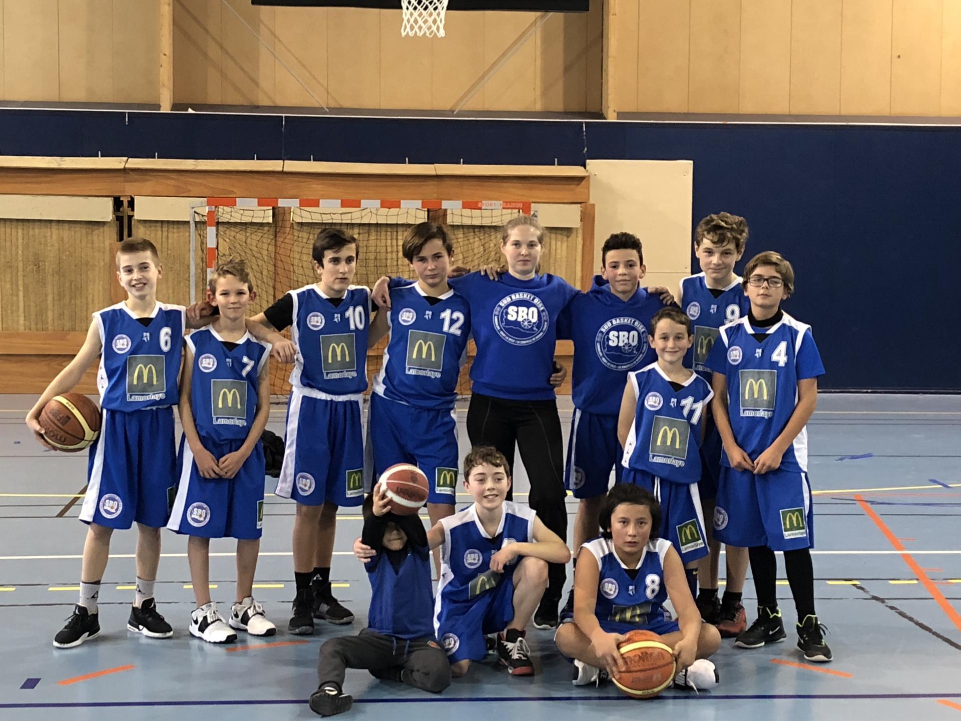 U13Elite Sud Basket Oise
