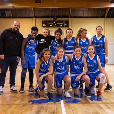 U15F Sud Basket Oise Saison 2019-2020