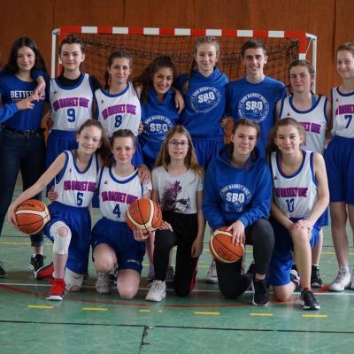 U15F Sud Basket Oise