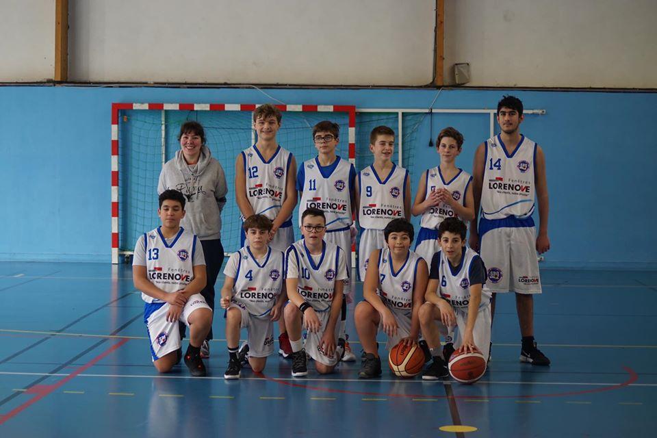 U15M équipe B Sud Basket Oise