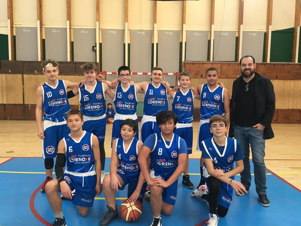 U15M Sud Basket Oise Saison 2019-2020