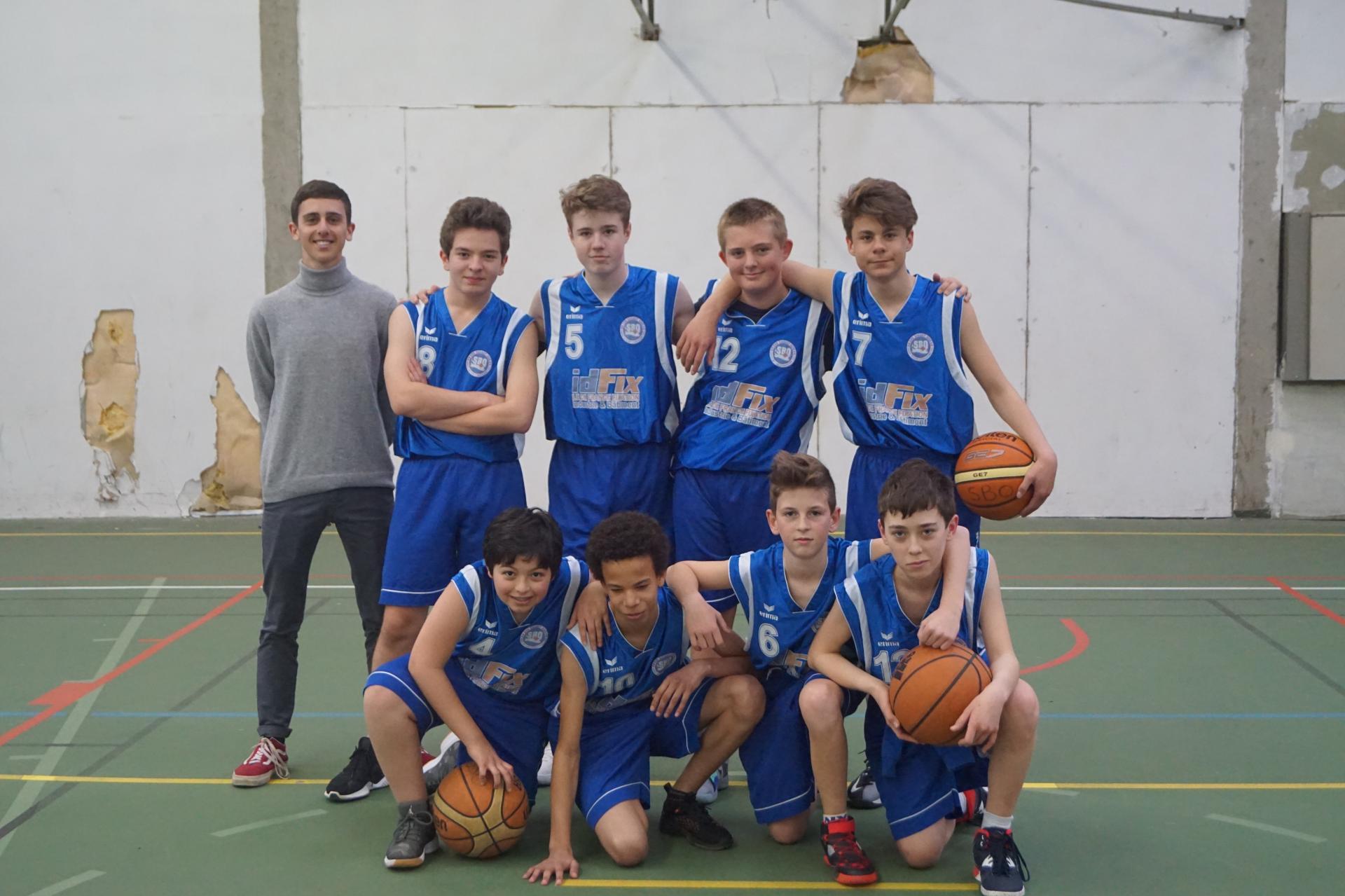 U15M Sud Basket Oise Saison 2018-2019