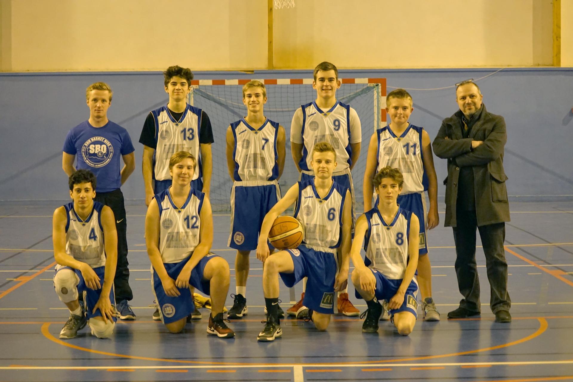 U17 Sud Basket Oise