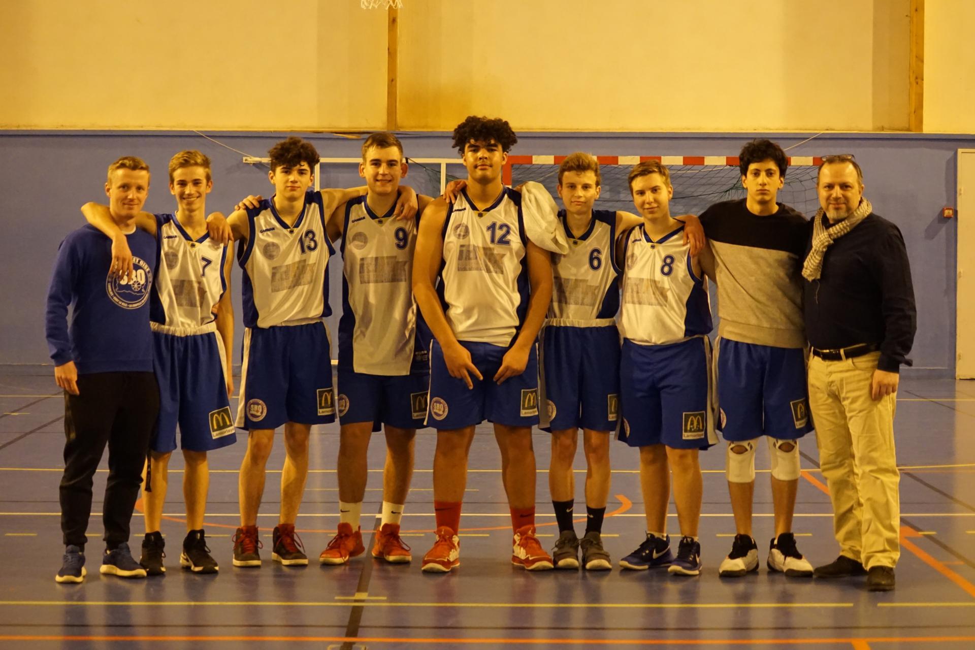U17M Lamorlaye Sud Basket Oise