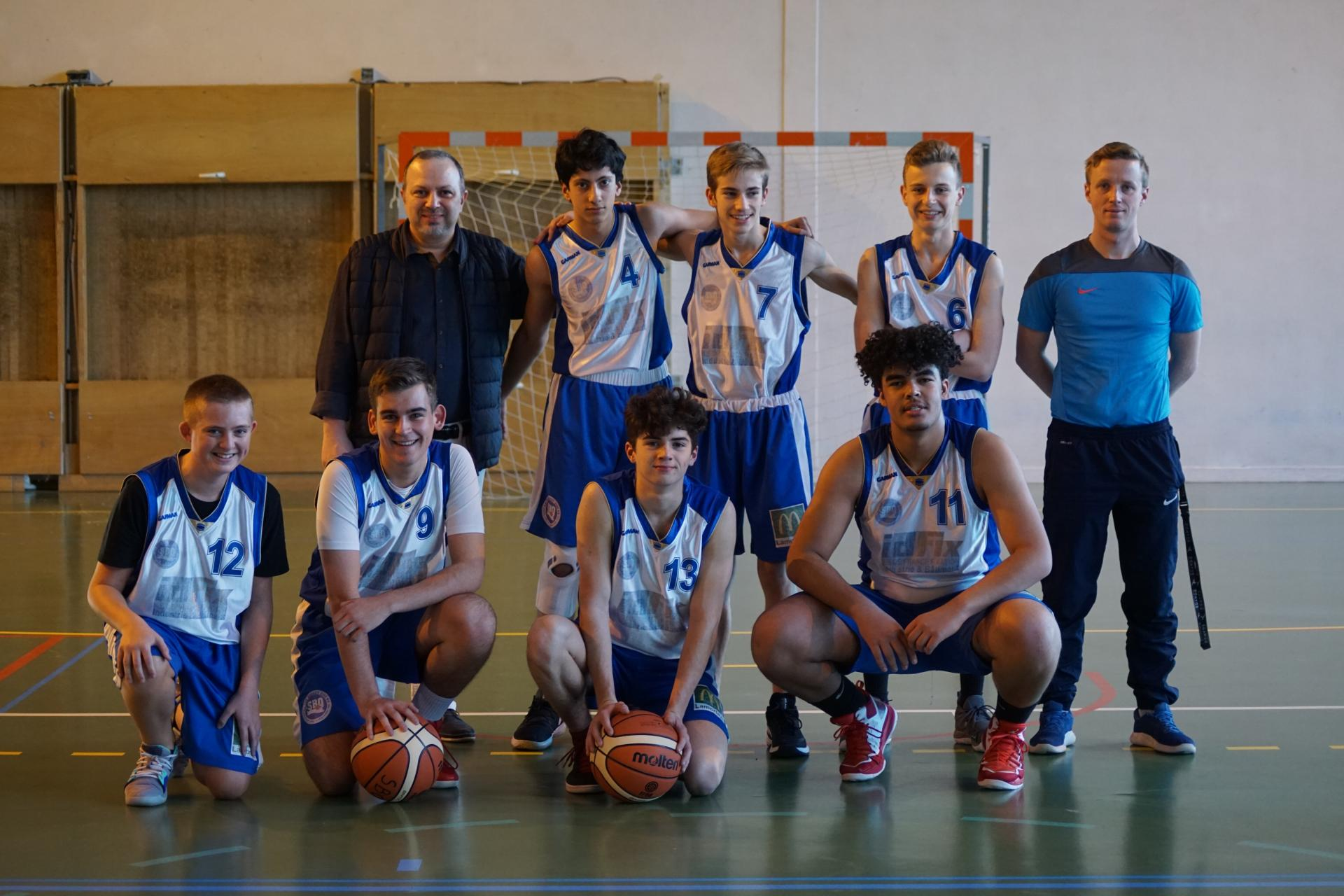 U17M Sud Basket Oise Saison 2018-2019