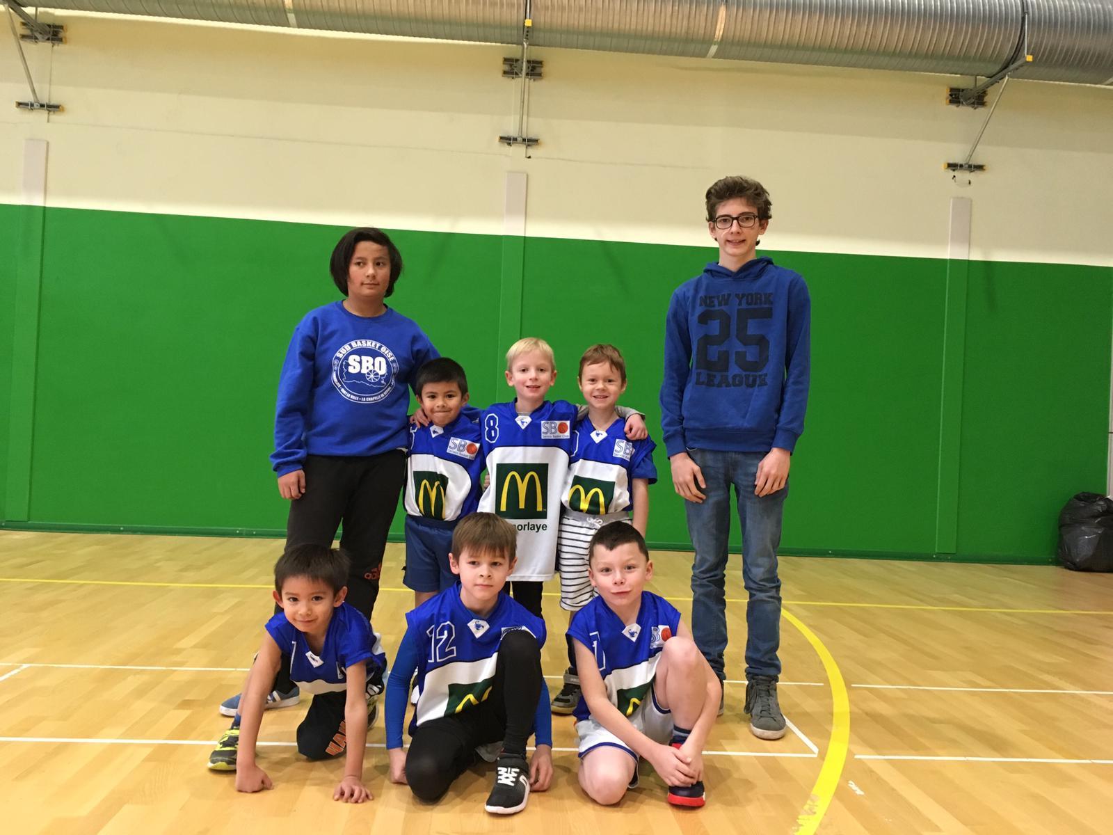 U7 Sud Basket Oise