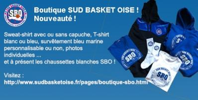 Boutique Sud basket Oise