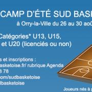 Camp d ete sud basket oise 1