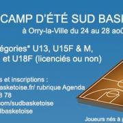 Camp d ete sud basket oise 2