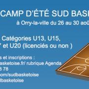 Camp d ete sud basket oise