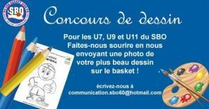 Concours de dessin sud basket oise