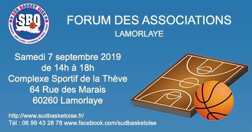 Forum des associations sud basket oise lamorlaye