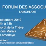 Forum des associations sud basket oise lamorlaye