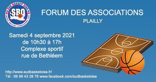 Forum des associations sud basket oise plailly 3