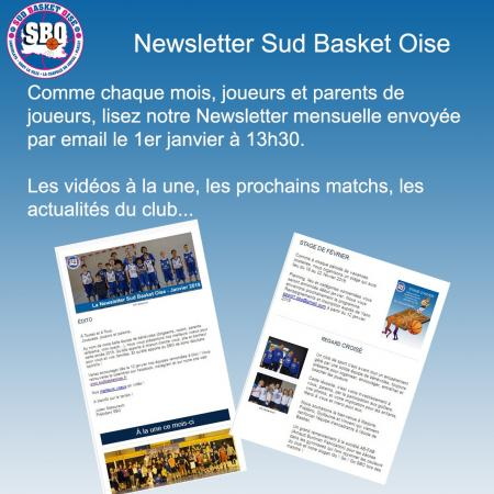 Newsletter sud basket oise 1