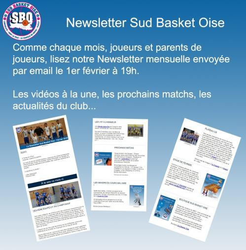 Newsletter sud basket oise 2