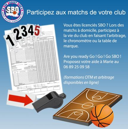 Participez a la vie du club sud basket oise