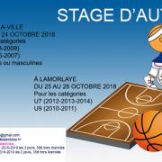 Stage sud basket oise octobre 2018