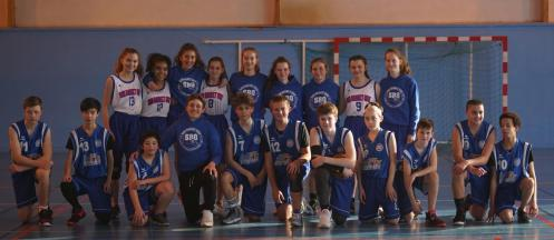 Sud Basket Oise Lamorlaye U15